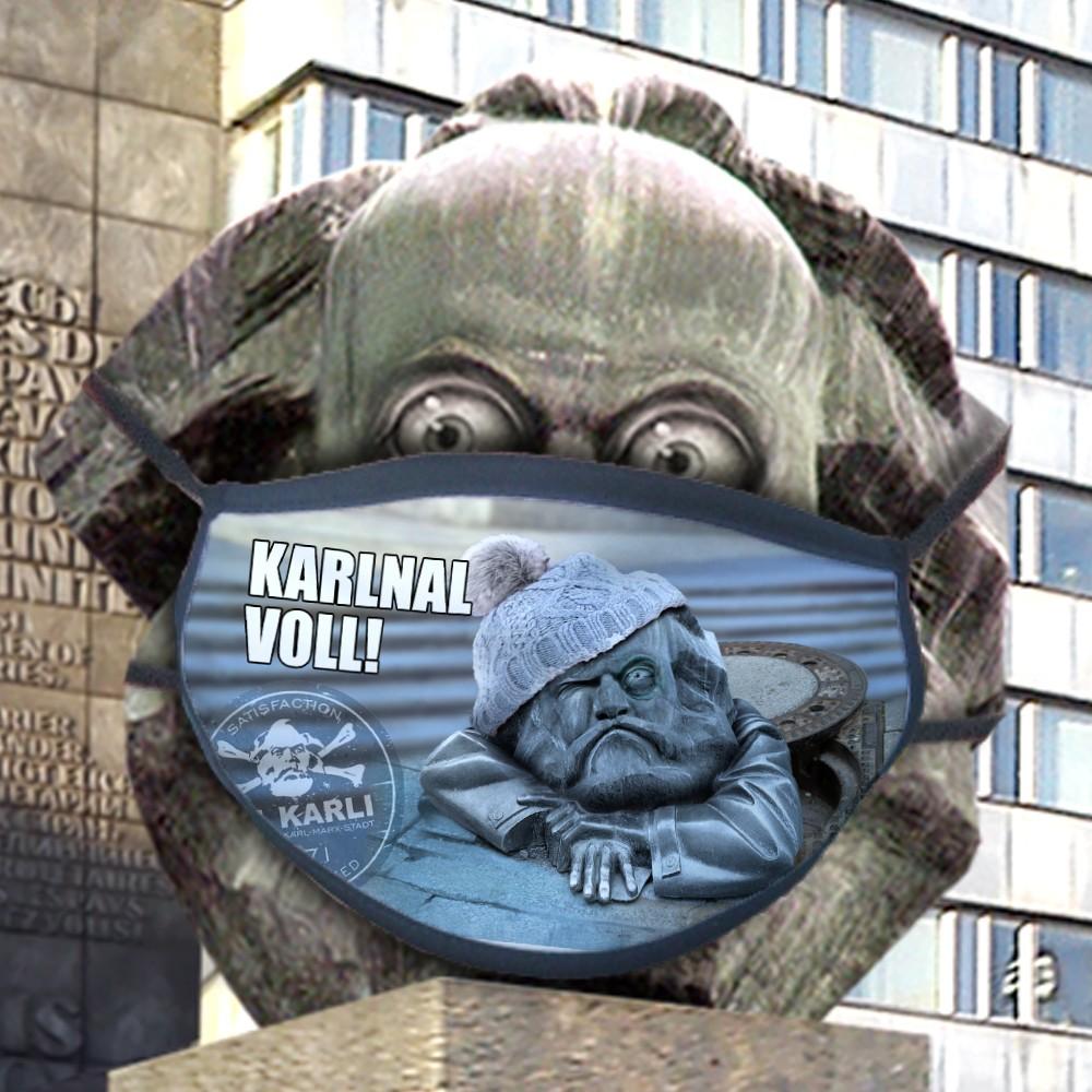 "St. Karli Maske ""Karlnal voll"""