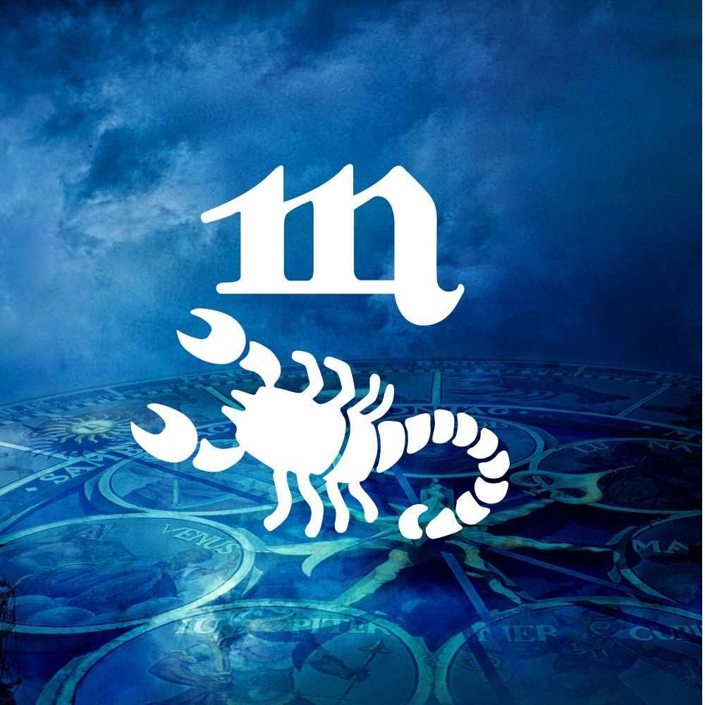 Handtuch Skorpion mit Wunschtext