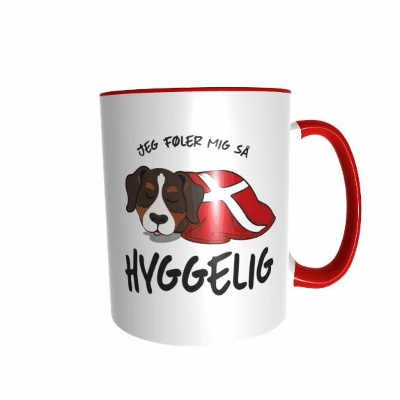 Hygge Hundetasse Berner Sennenhund Dänemark mit Wunschname