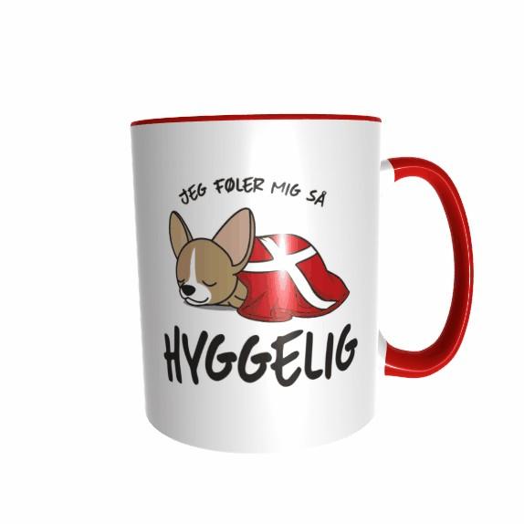 Hygge Hundetasse Chihuahua (hell) Dänemark mit Wunschname