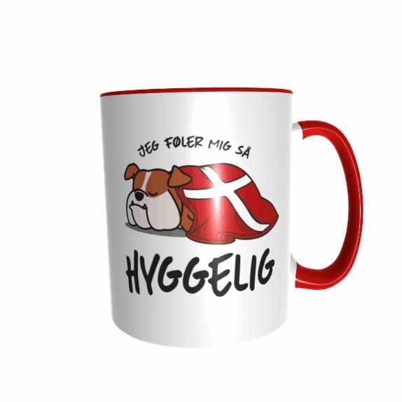 Hygge Hundetasse Bulldogge Dänemark mit Wunschname