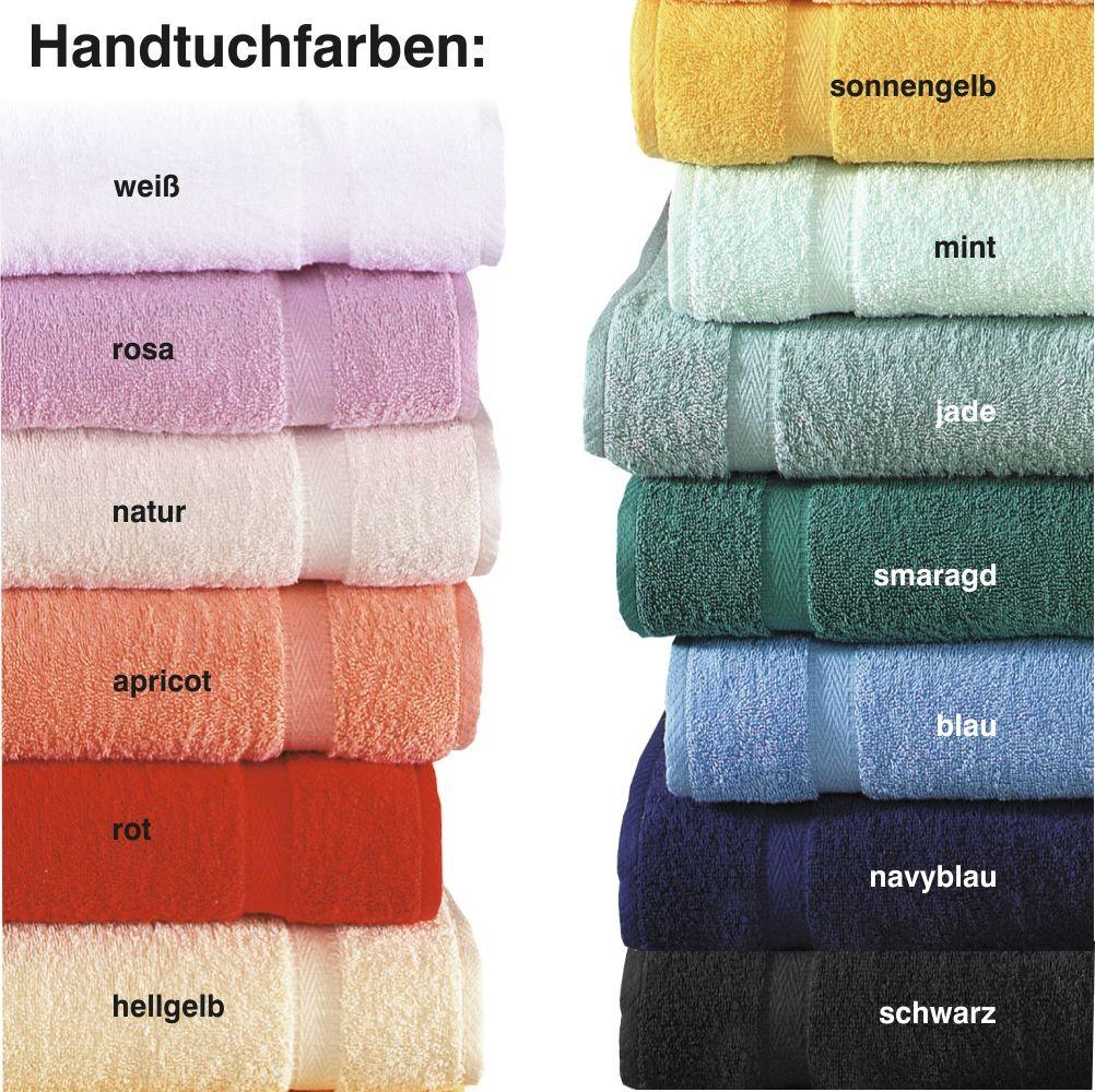 Handtuch individuell bestickt