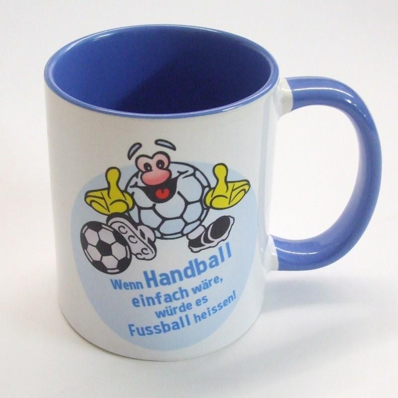 Hanniball Kaffeetasse blau