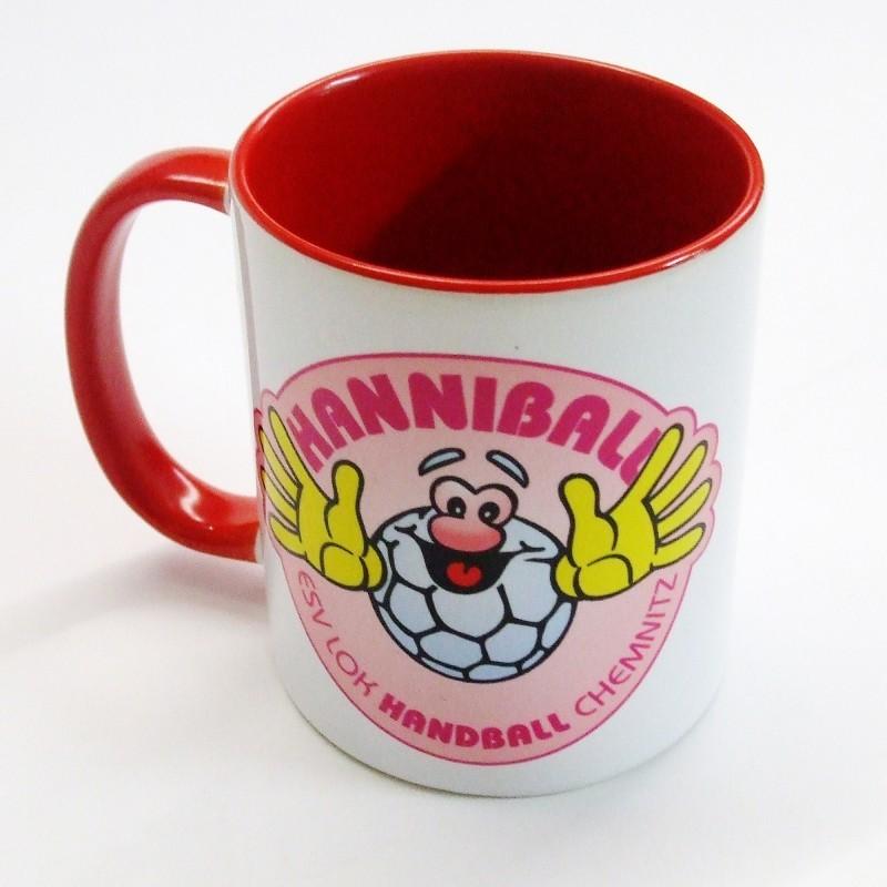 Hanniball Kaffeetasse rot