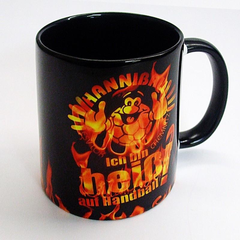 Hanniball Kaffeetasse schwarz