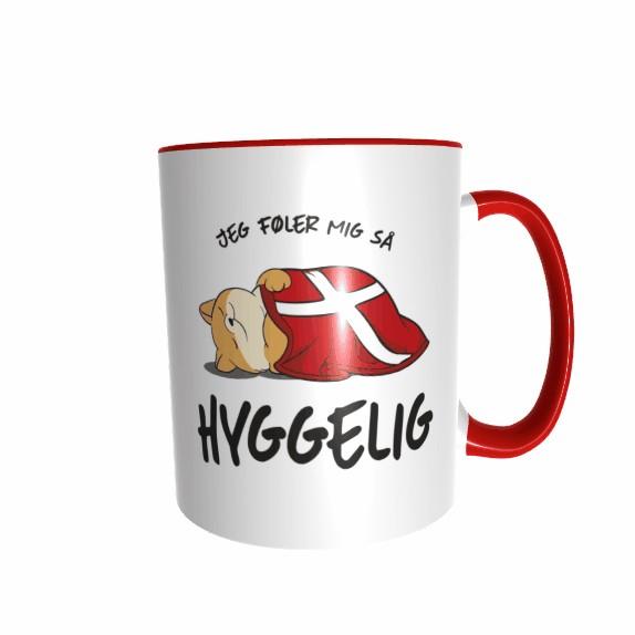 Hygge Miezetasse (Katze beige) Dänemark mit Wunschname