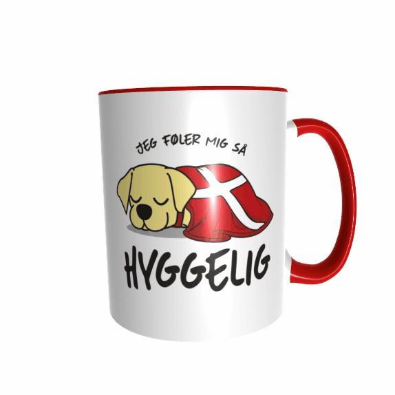 Hygge Hundetasse Labrador (beige) Dänemark mit Wunschname