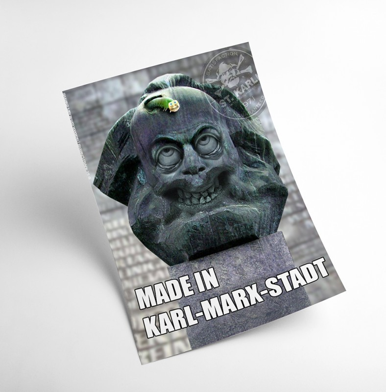 "St. Karli Poster ""MADE IN KARL-MARX-STADT"""