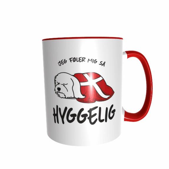 Hygge Hundetasse Malteser Dänemark mit Wunschname