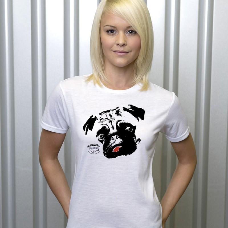 Mopsrennen Damen T-Shirt