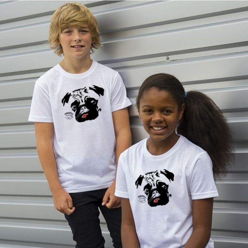 Mopsrennen Kinder T-Shirt