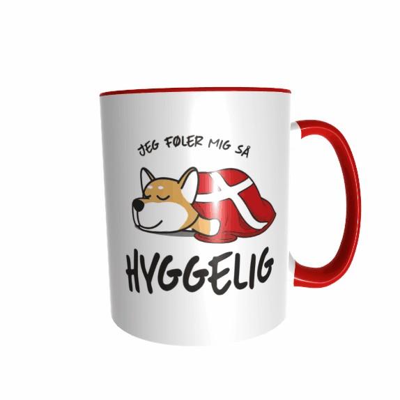 Hygge Hundetasse Shiba Inu Dänemark mit Wunschname