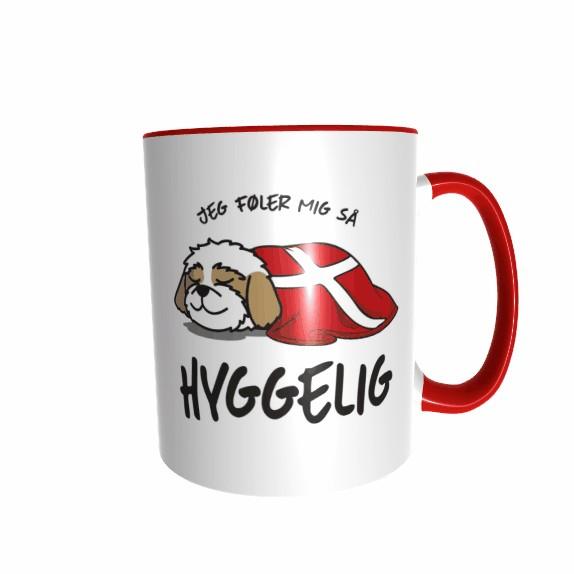Hygge Hundetasse Shih Tzu Dänemark mit Wunschname
