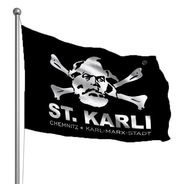 St. Karli - Chemnitz Hissflagge