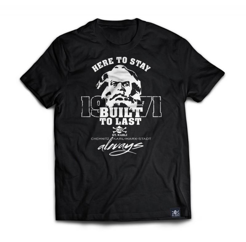 "St. Karli T-Shirt ""BUILT TO LAST - 1971"""