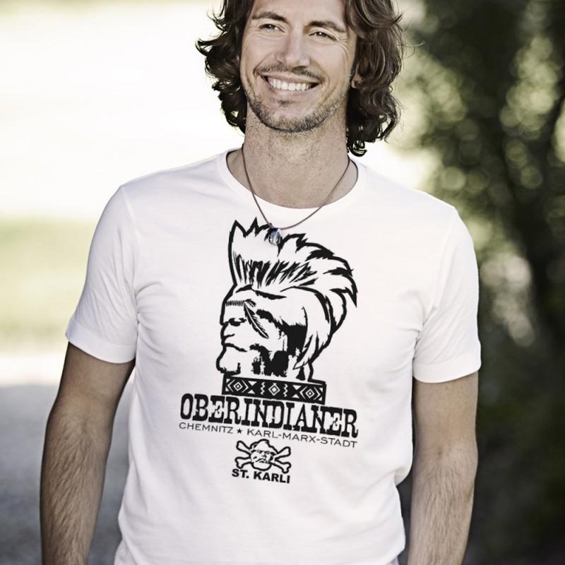 "St. Karli T-Shirt ""Oberindianer"""