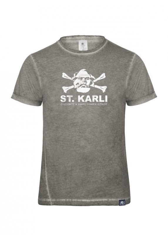 "St. Karli Used Look Shirt ""Grey Clash"""