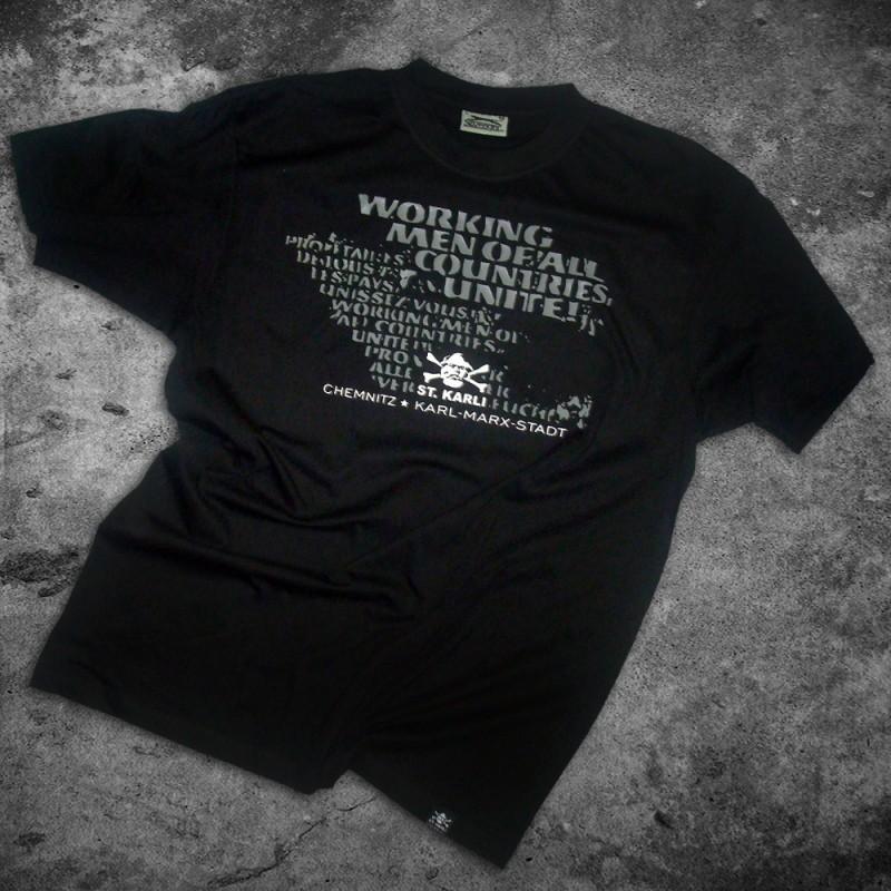 """St. Karli """"Worker Shirt"""" Schwarz"""
