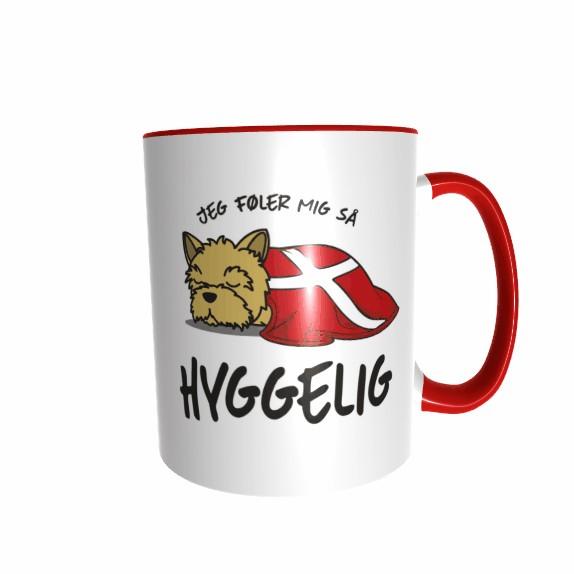 Hygge Hundetasse Yorkshire Terrier Dänemark mit Wunschname