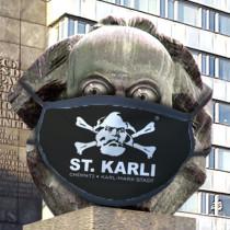 """St. Karli Maske """"Logo"""""""