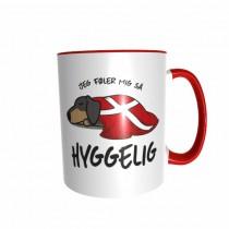 Hygge Hundetasse Dackel Dänemark mit Wunschname