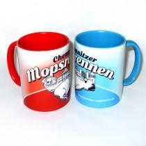 Mopsrennen Tasse SPAR-SET Motiv 1