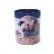 """Mopsrennen Tasse """" ...ich brauch´ erstmal´n Kaffee"""""""
