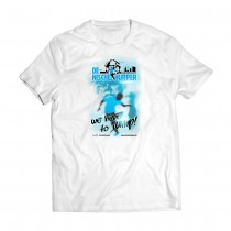 "Photo Print Shirt ""we have to jump"""
