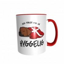 Hygge Hundetasse Rhodesian Ridgeback Dänemark mit Wunschname