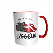 Hygge Hundetasse Scottish Terrier Dänemark mit Wunschname