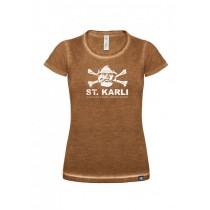 "St. Karli Used Look Lady Shirt ""Rusty Clash"""